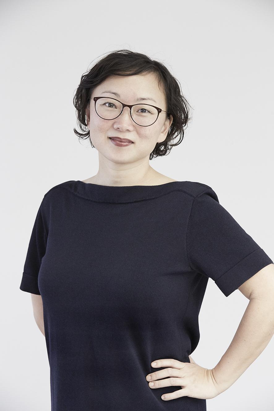 Portrætbillede af Nanna Berentzen Østergaard. Fotograferet af fotograf, Kim Ahm.